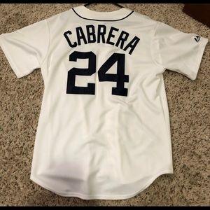 Detroit Tigers Miguel Cabrera Jersey
